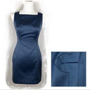 BCBGMaxazaria Blue Sheath Dress